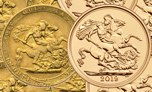 Gold Sovereign Coins