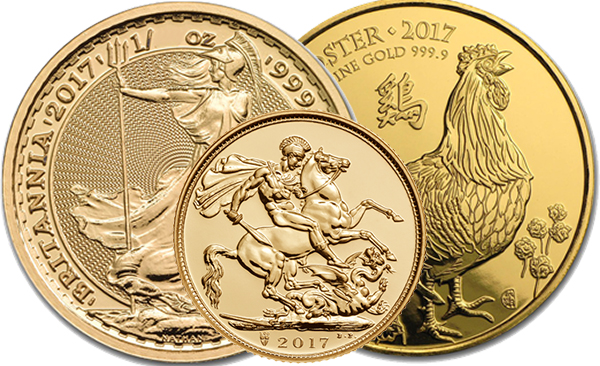 UK GOLD COINS