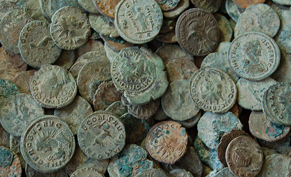 Roman Silver Hoard found in Fife by teenager David Hall