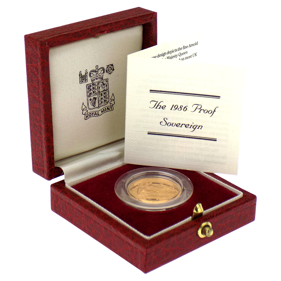 Proof Sovereign Gold Coin