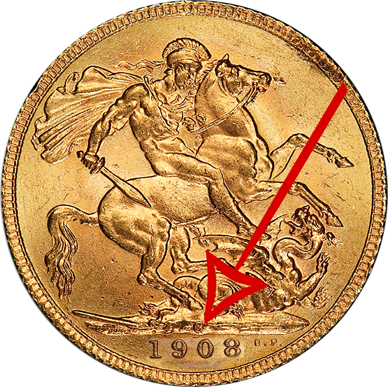 Full Sovereign with Canada mint mark