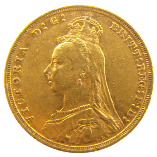 Jubilee Head Gold Sovereign