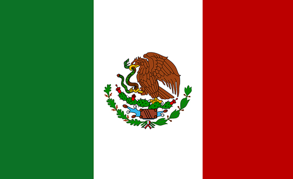 Mexico Flag. Price of gold after earthquake hits