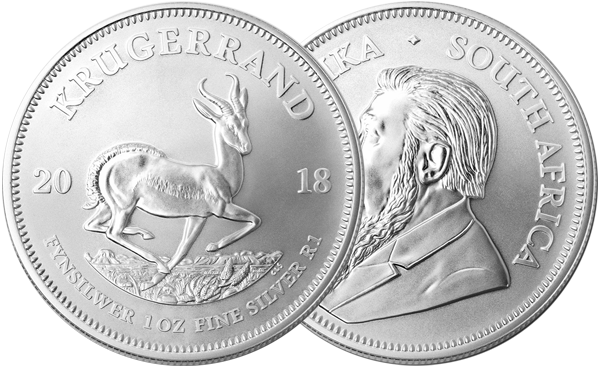 2018 Silver Krugerrand Coin