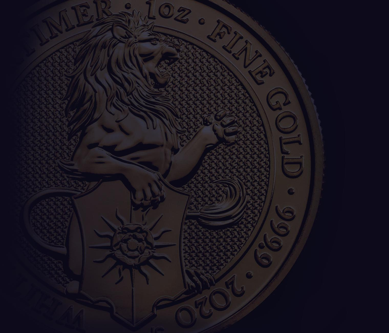 2020 Queen's Beasts White Lion of Mortimer Coin