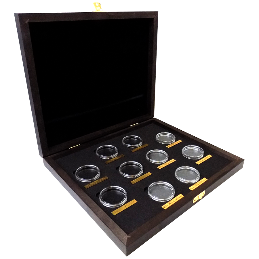 Wooden Box for Queen's Beasts 2oz Silver Coins