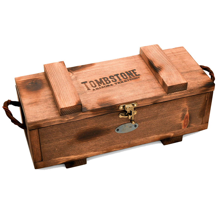 Wooden Scottsdale Tombstone Monster Box