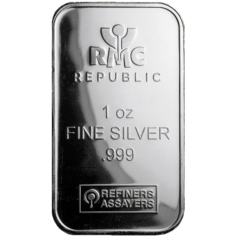 Rmc 1oz Silver Bars With Free Delivery Atkinsons Bullion