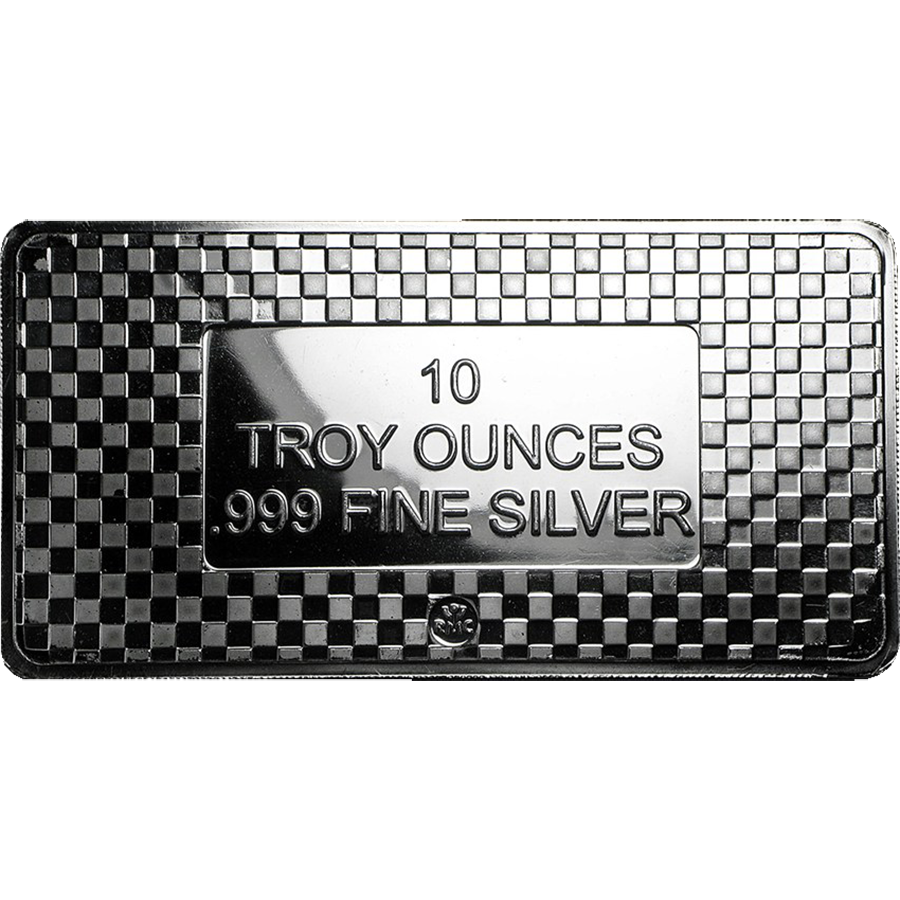 Rmc 10oz Eagle Silver Bars With Free Delivery Atkinsons