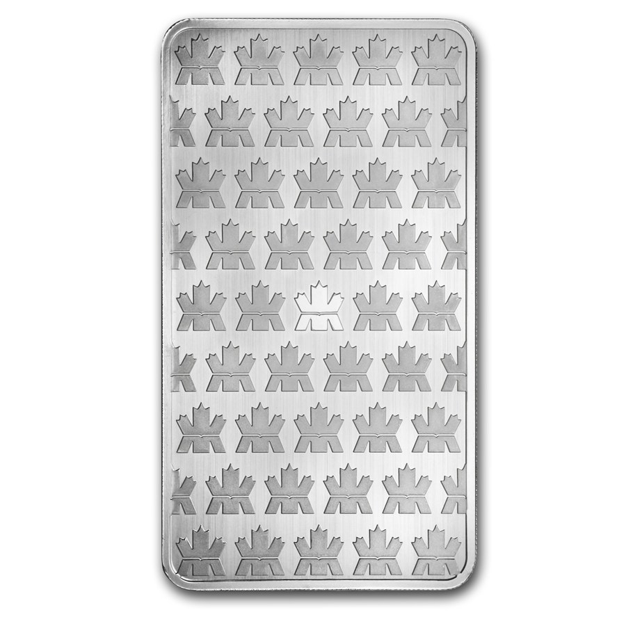 Canadian Mint 10oz Silver Bar (Image 2)