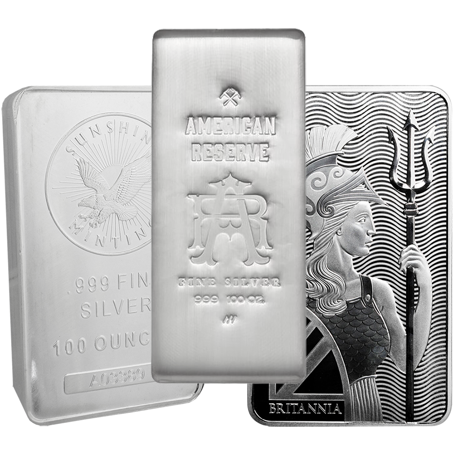 Pre-Owned 100oz Silver Bar