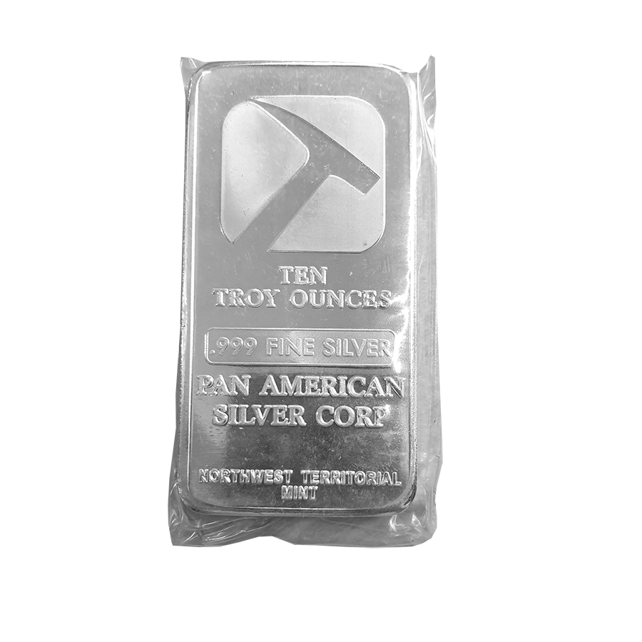 Pre-Owned Pan American Silver Corp 10oz Silver Bar