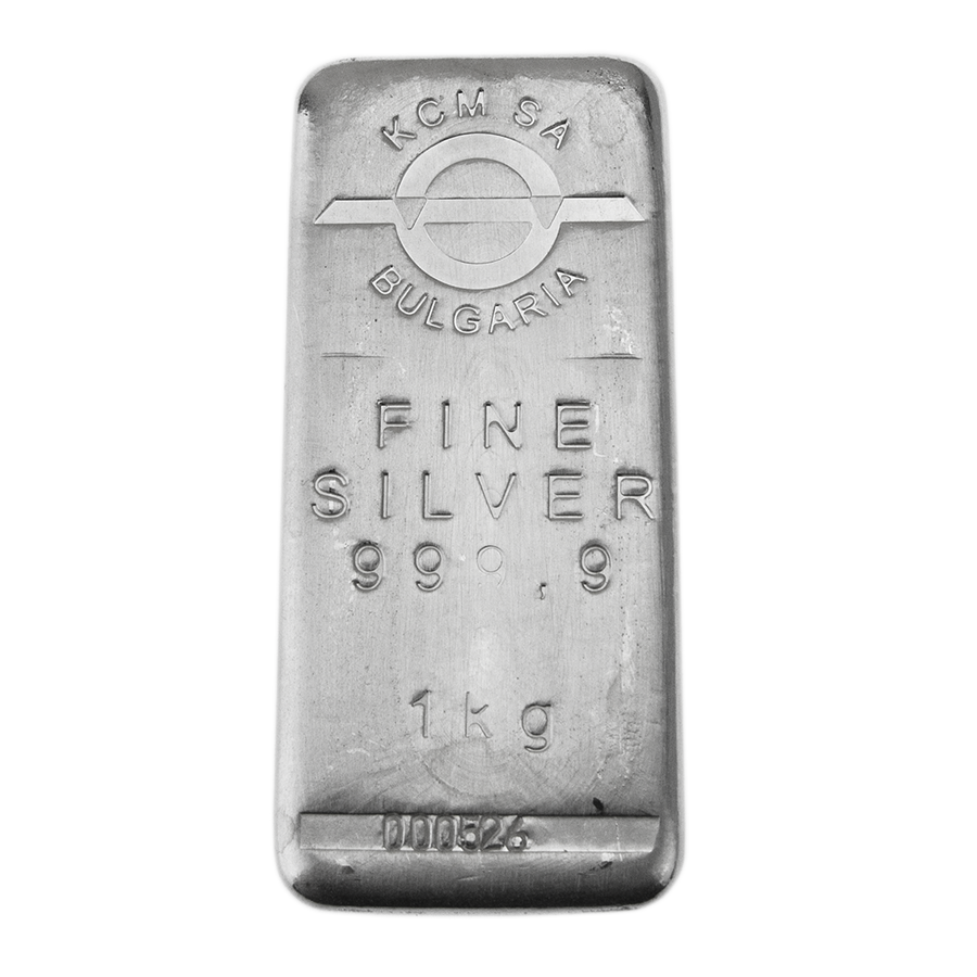 Bullion 1kg Silver Bar