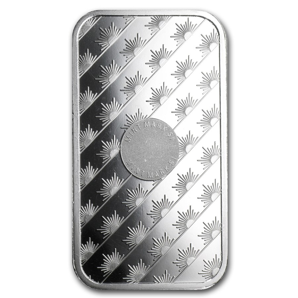Sunshine Mint 1oz Silver Bar (Image 2)