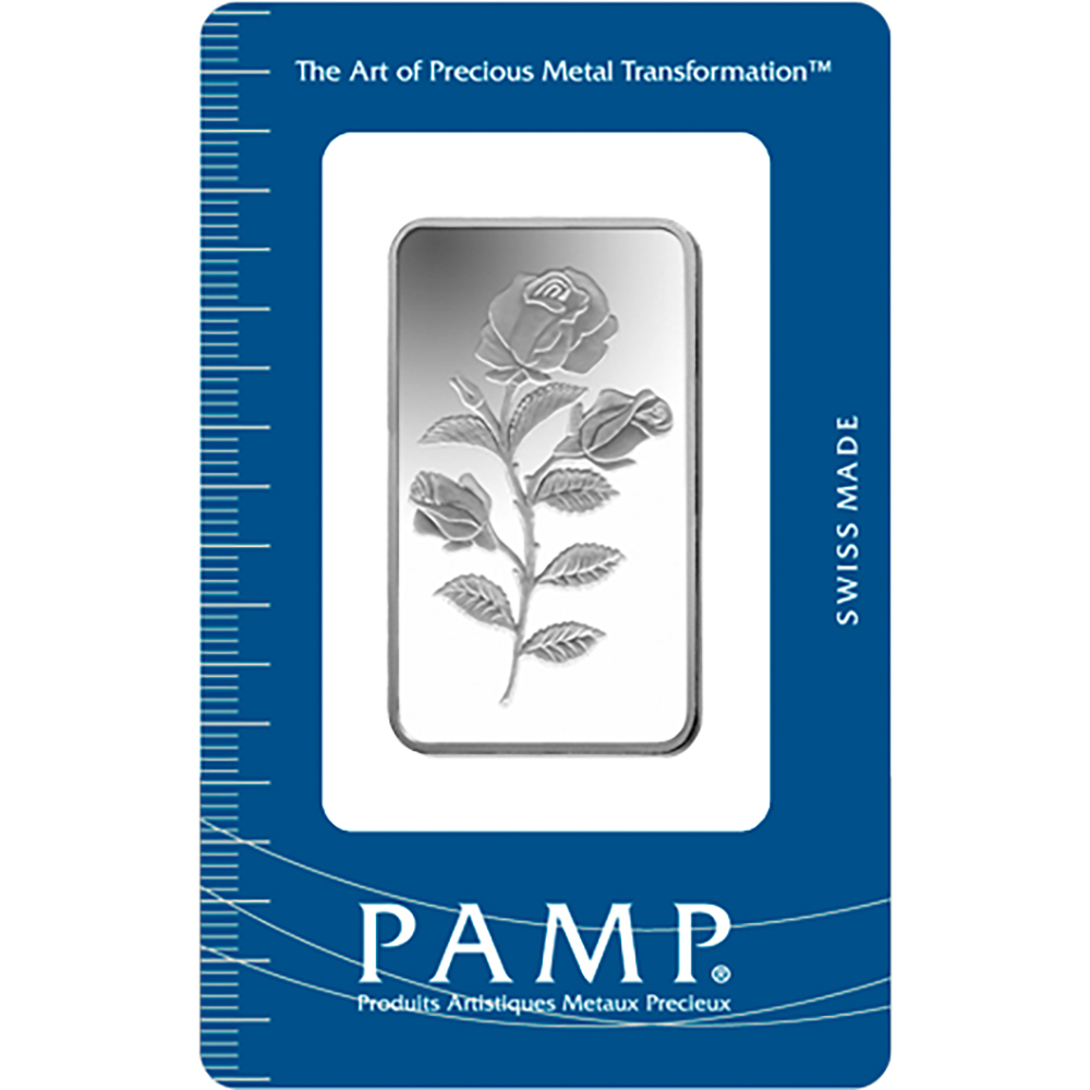 PAMP Suisse Rosa 1oz Silver Bar