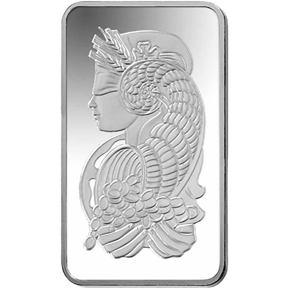 PAMP Suisse Fortuna 5oz Silver Bar