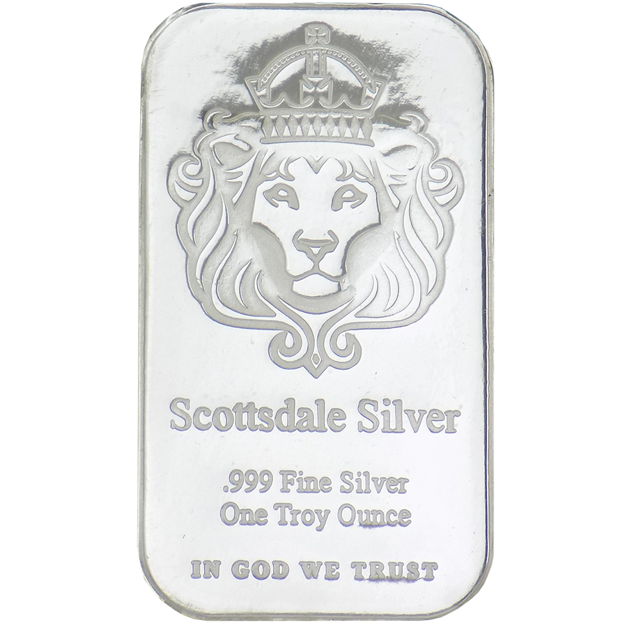 Scottsdale Mint 1oz 'The One' Silver Bar