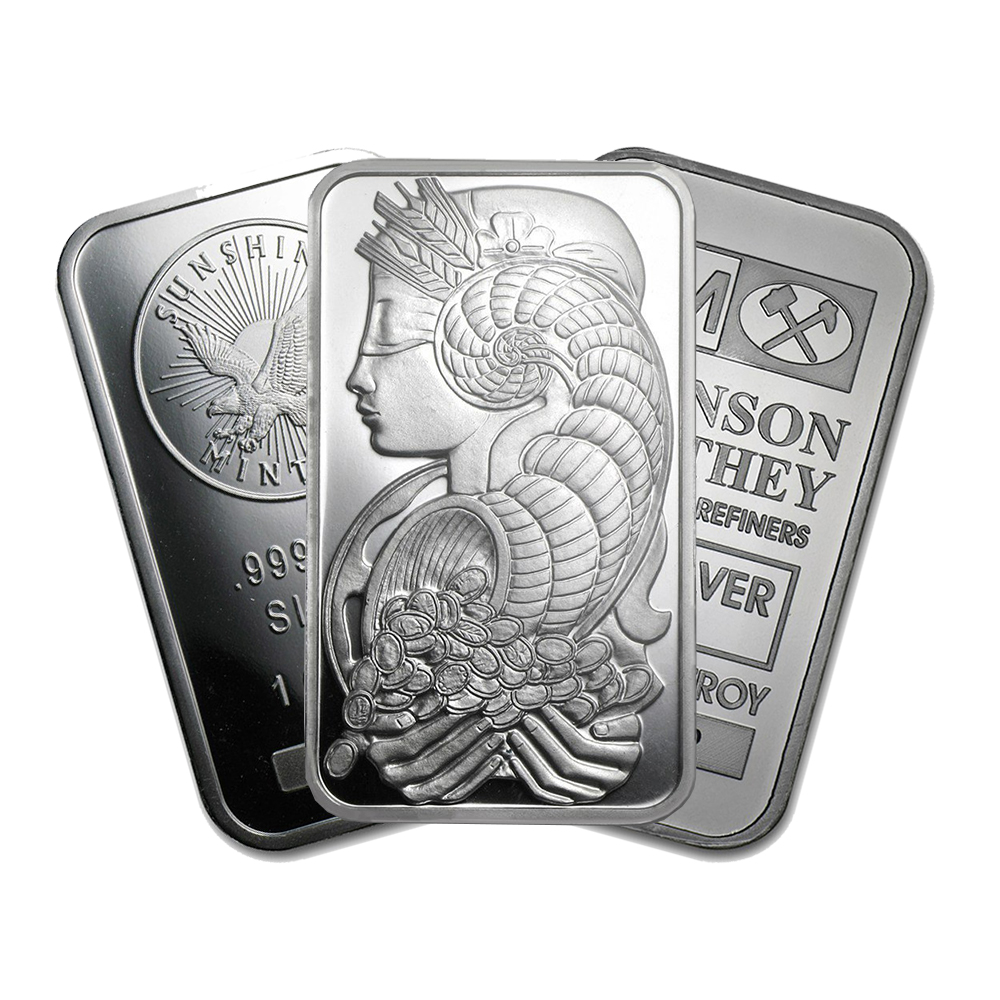 Pre-Owned 1oz Silver Bar