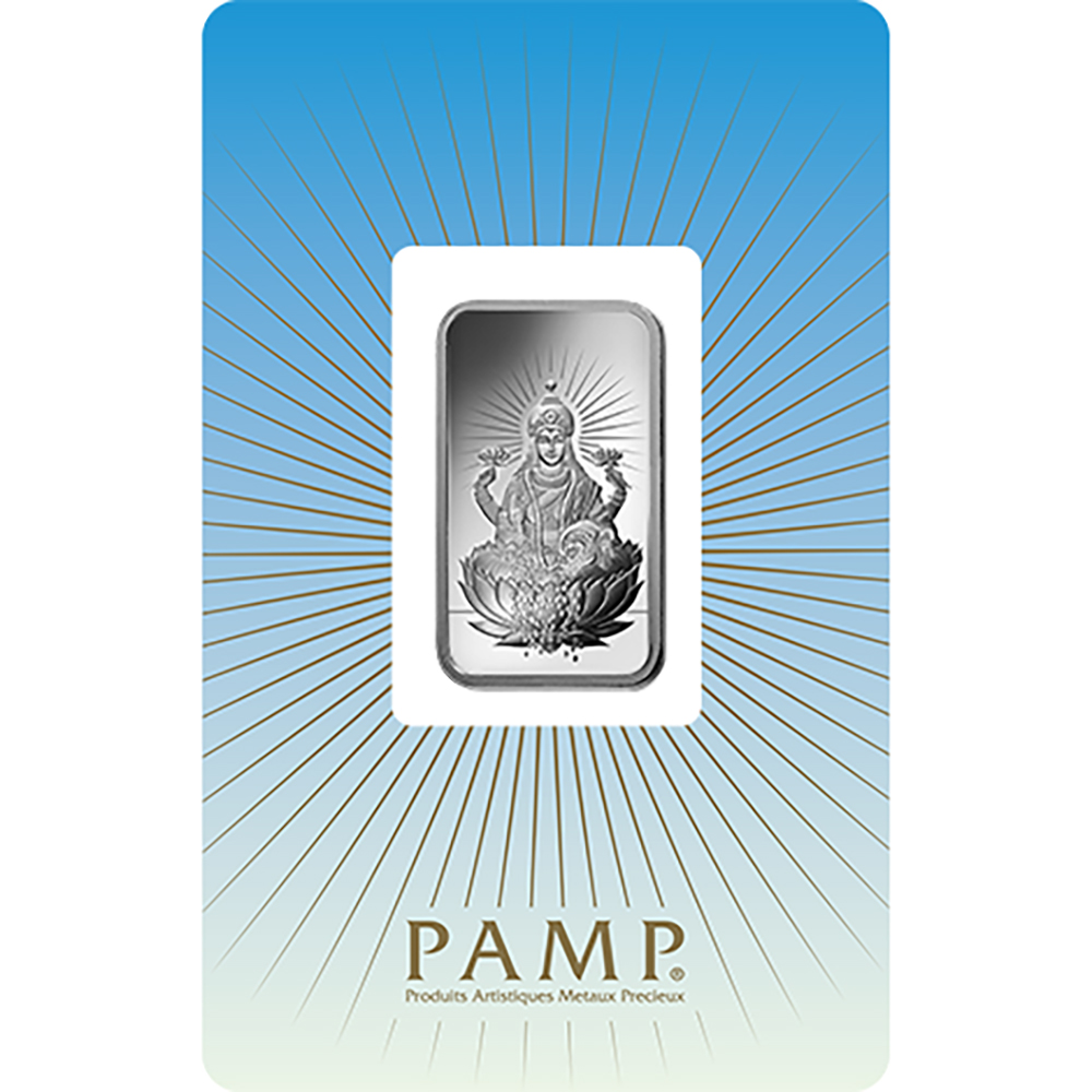 PAMP 'Faith' Lakshmi 1oz Silver Bar (Image 1)