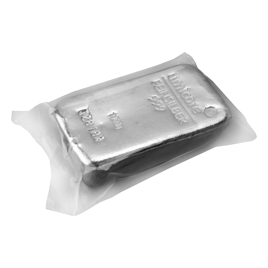 Umicore 1kg Silver Bar (Image 2)