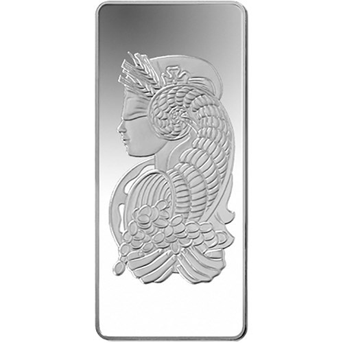 Pre-Owned PAMP Suisse Fortuna 1kg Silver Bar (Image 1)