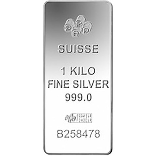 Pre-Owned PAMP Suisse Fortuna 1kg Silver Bar (Image 2)