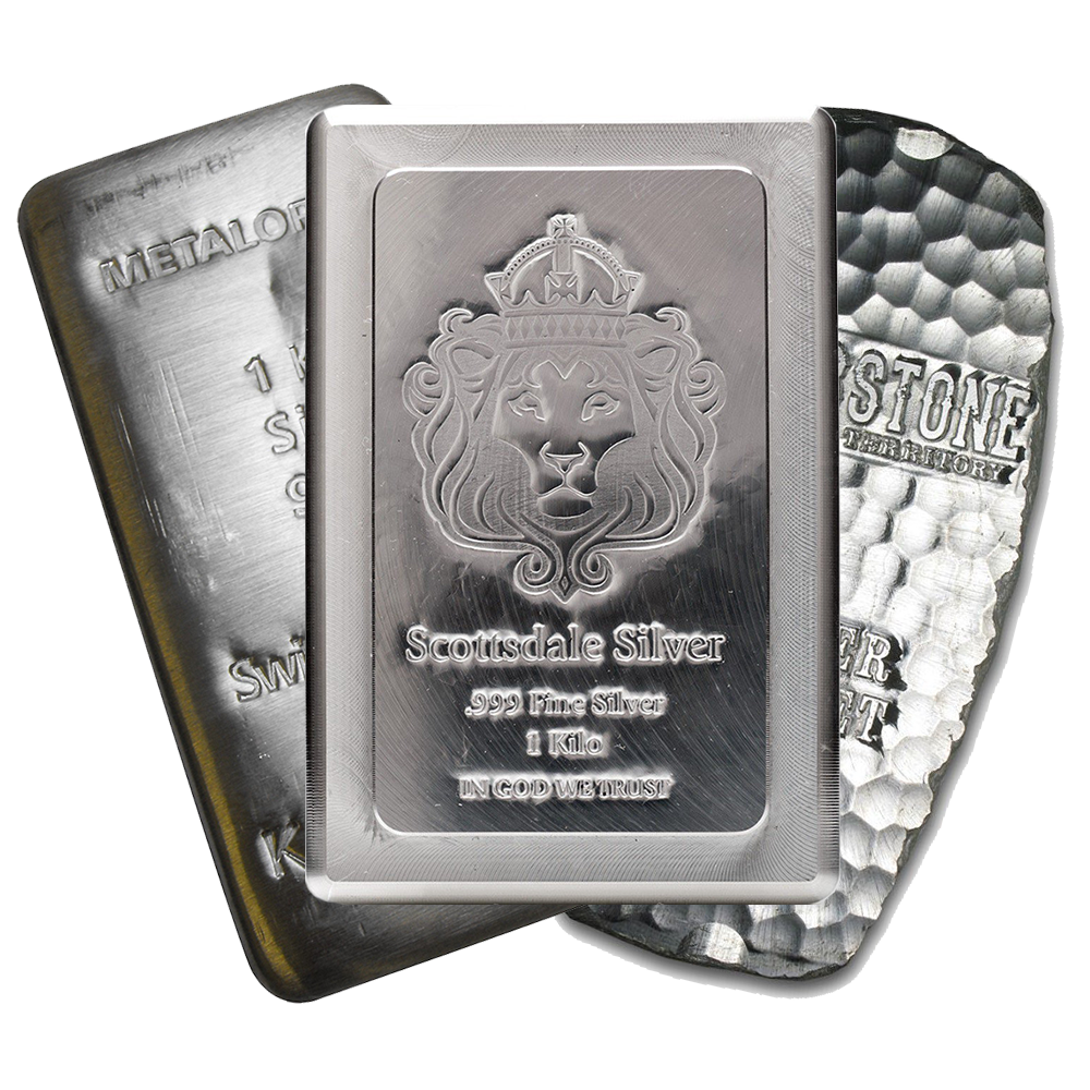 1Kg Silver Bullion Bar