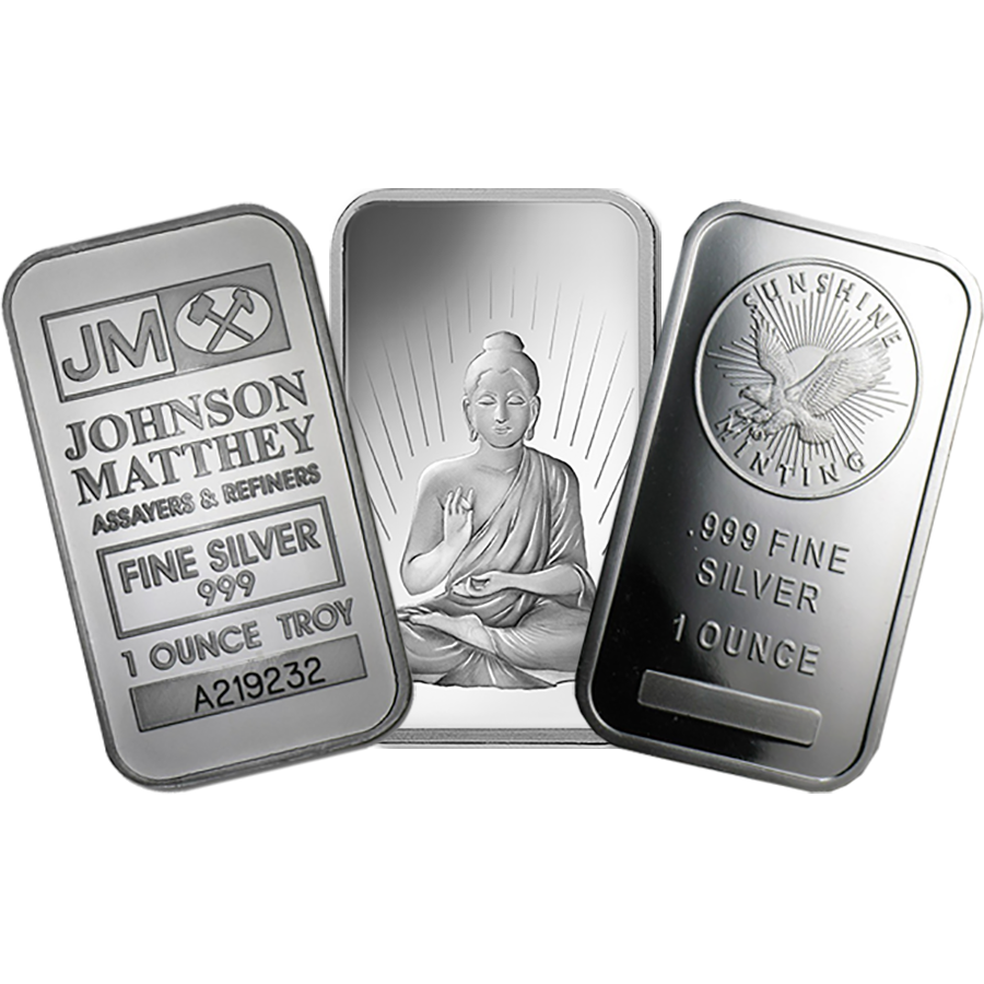 Silver 1oz Bullion Bar
