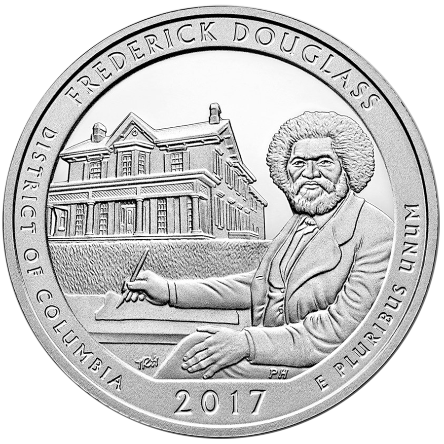 2017 ATB Effigy, Douglass & Ozark 5oz Silver Coin Collection (Image 2)