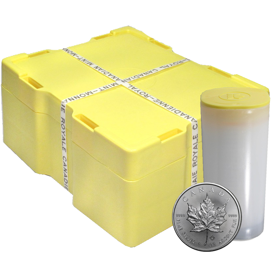 2018 Canadian Maple 1oz Silver 500 Coin Monster Box