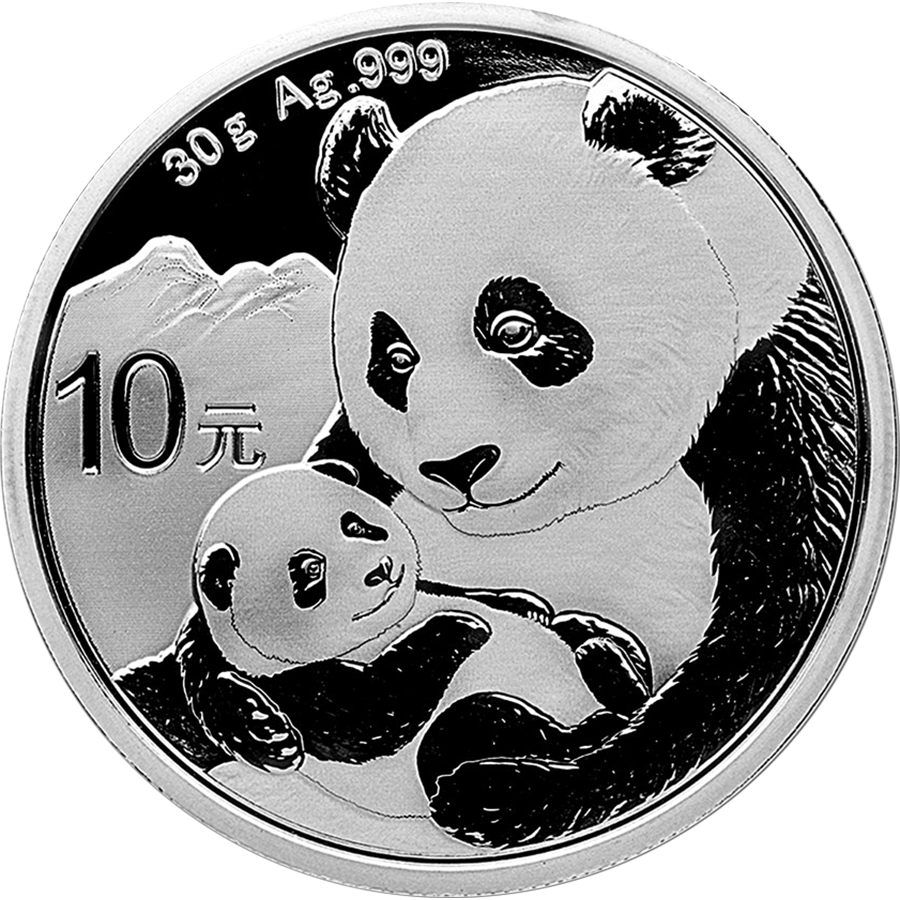 2019 Chinese Panda 30g Silver Coin with Gift Box & Certificate (Image 2)
