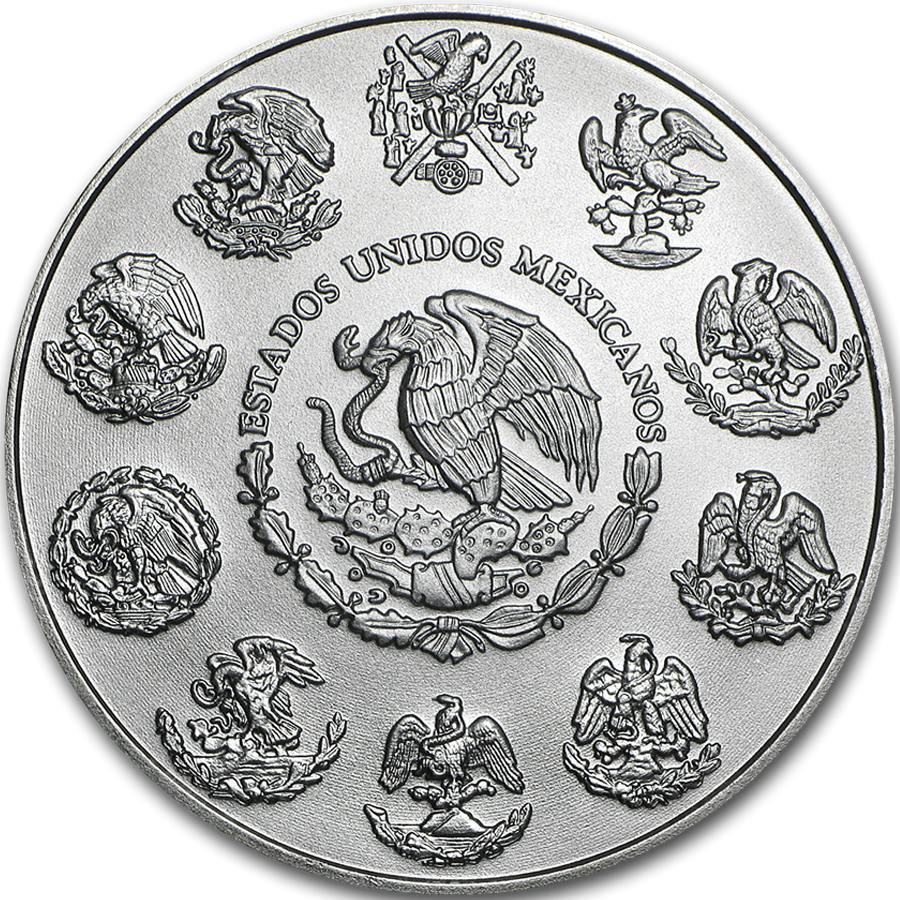 2019 Mexican Libertad 1oz Silver Coin - Full Tube of 25 Coins (Image 3)