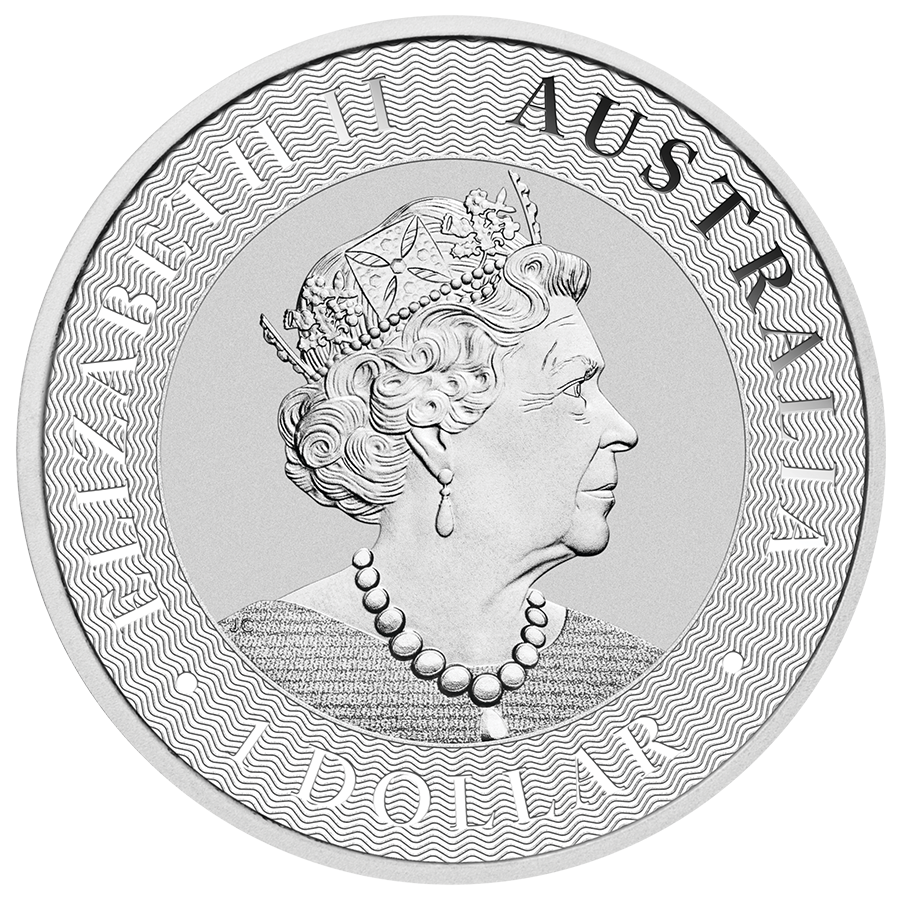 2020 Australian Kangaroo 1oz Silver Coin - Monster Box of 250 Coins (Image 3)