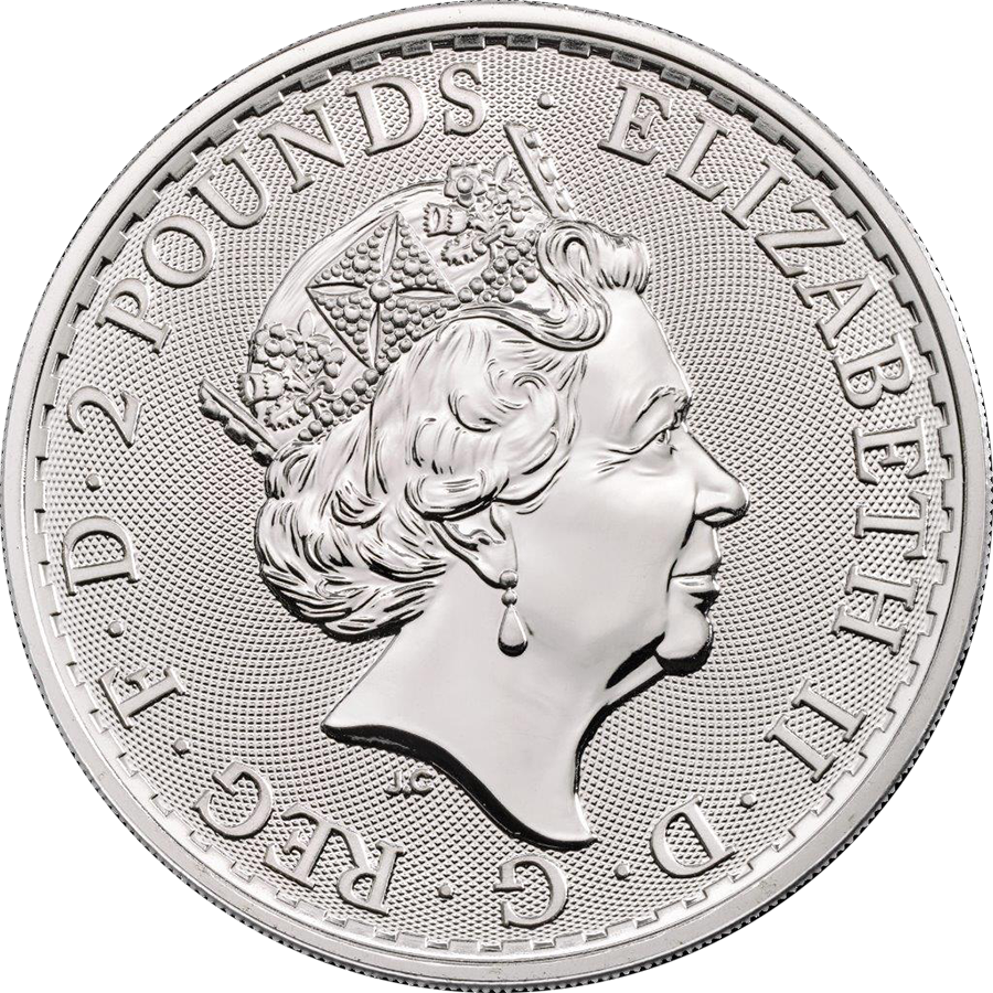 2020 UK Britannia 1oz Silver Coin - Mini Box of 100 Coins (Image 4)
