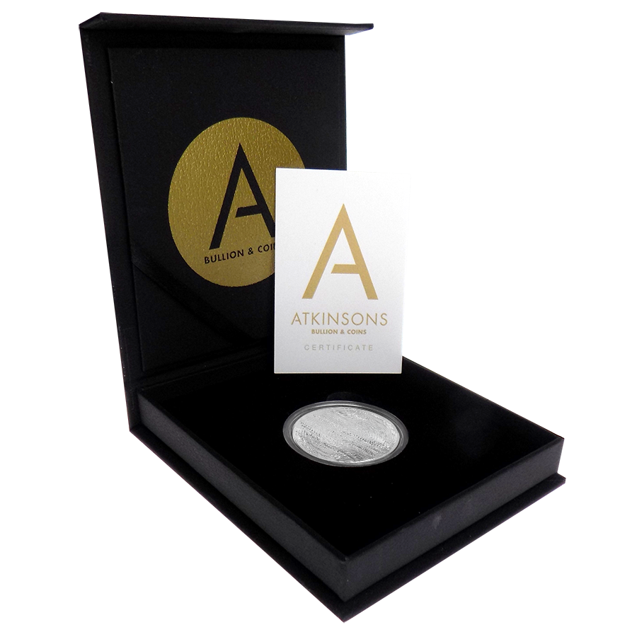 2020 South African Krugerrand 1oz Silver Coin with Gift Box & Certificate