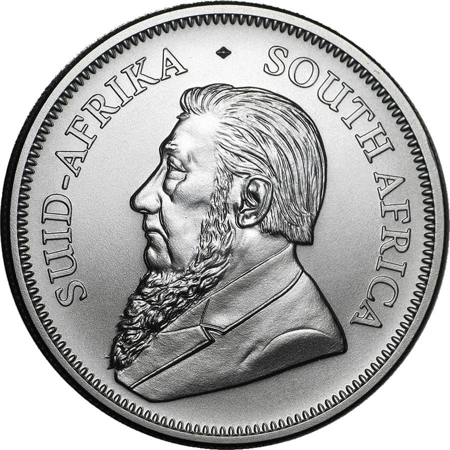 2021 South African Krugerrand 1oz Silver Coin - Full Tube of 25 Coins (Image 3)