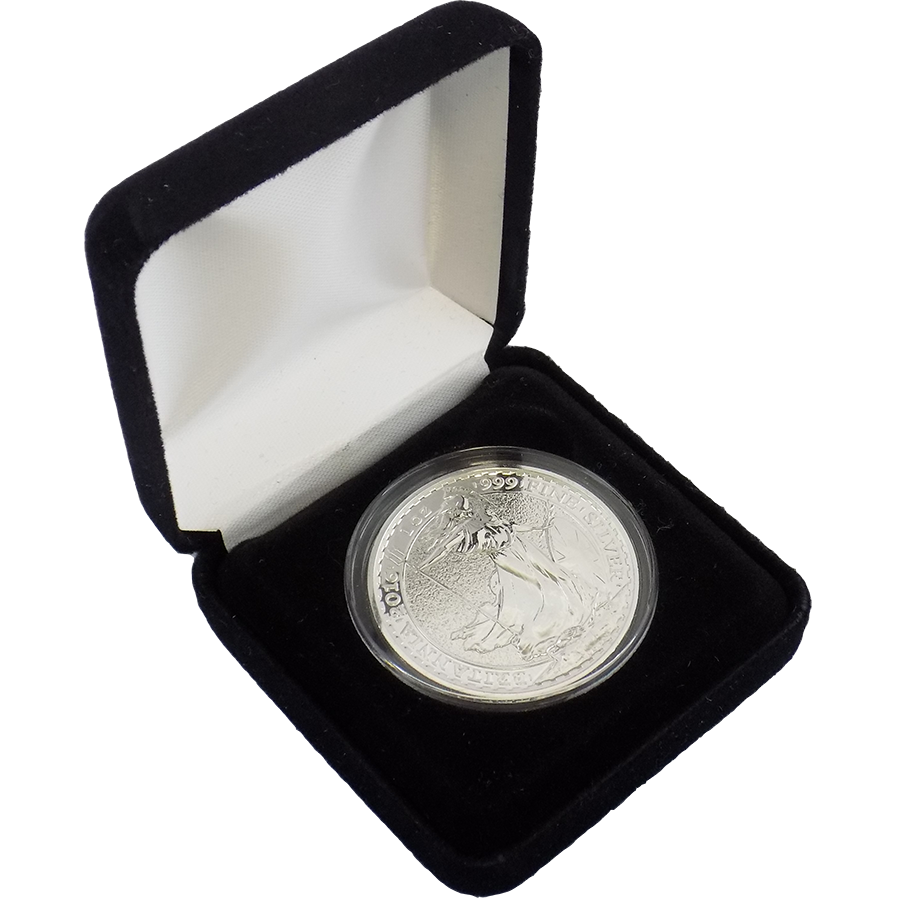2016 UK Britannia 1oz Silver Coin & Gift Box