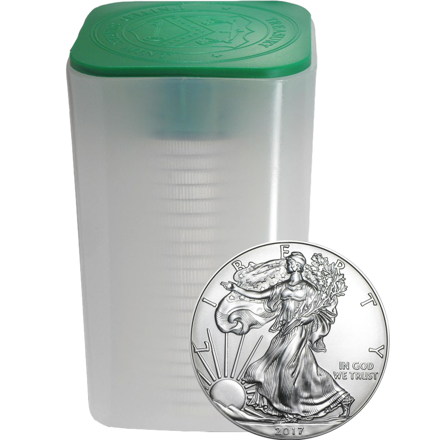 2017 USA Eagle 1oz Silver Coin - (Tube of 20 Coins)
