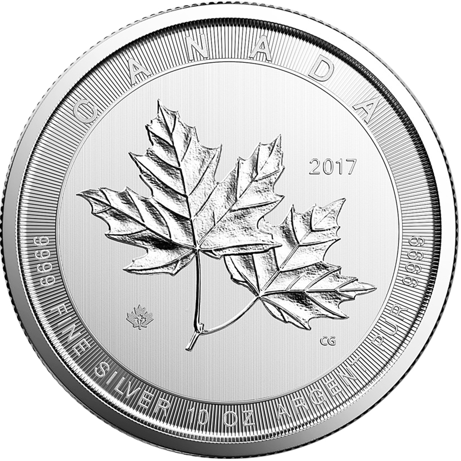2017 Canadian Maple 10oz Silver Coin