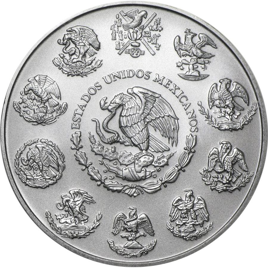 Pre-Owned Mexican Libertad 1oz Silver Coin - VAT Free - Mixed Dates (Image 2)