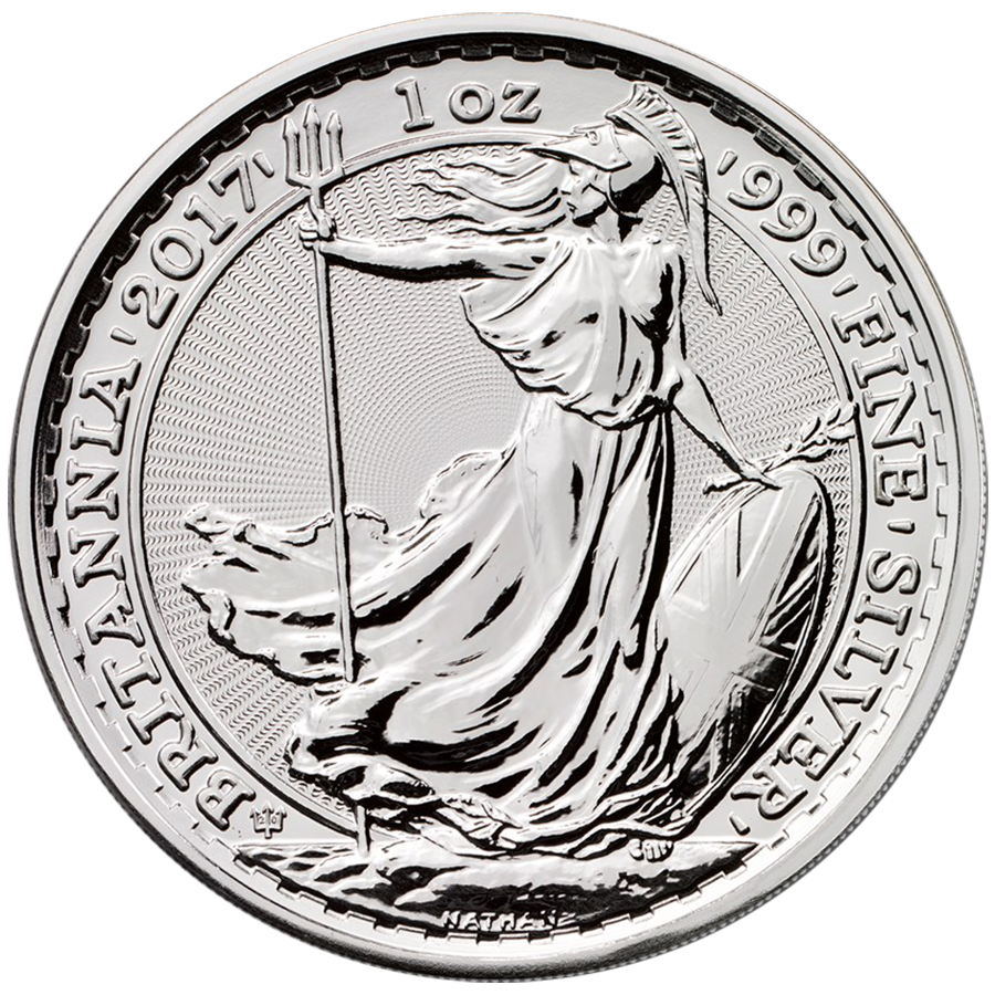 2017 UK Britannia 20th Anniversary 1oz Silver Coin