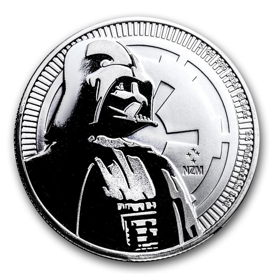 2017 Niue Star Wars Darth Vader 1oz Silver Coin