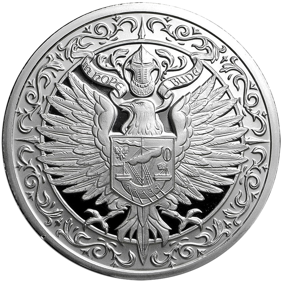 Destiny Knight - The Raven 2oz Silver Round