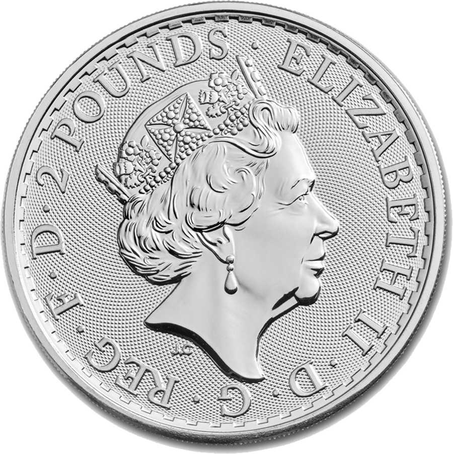 2018 Britannia 1oz Silver Coin Free Uk Delivery