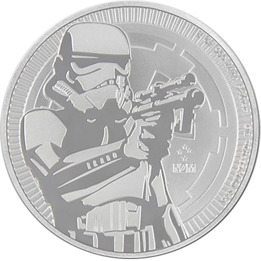 2018 Niue Star Wars Stormtrooper 1oz Silver Coin