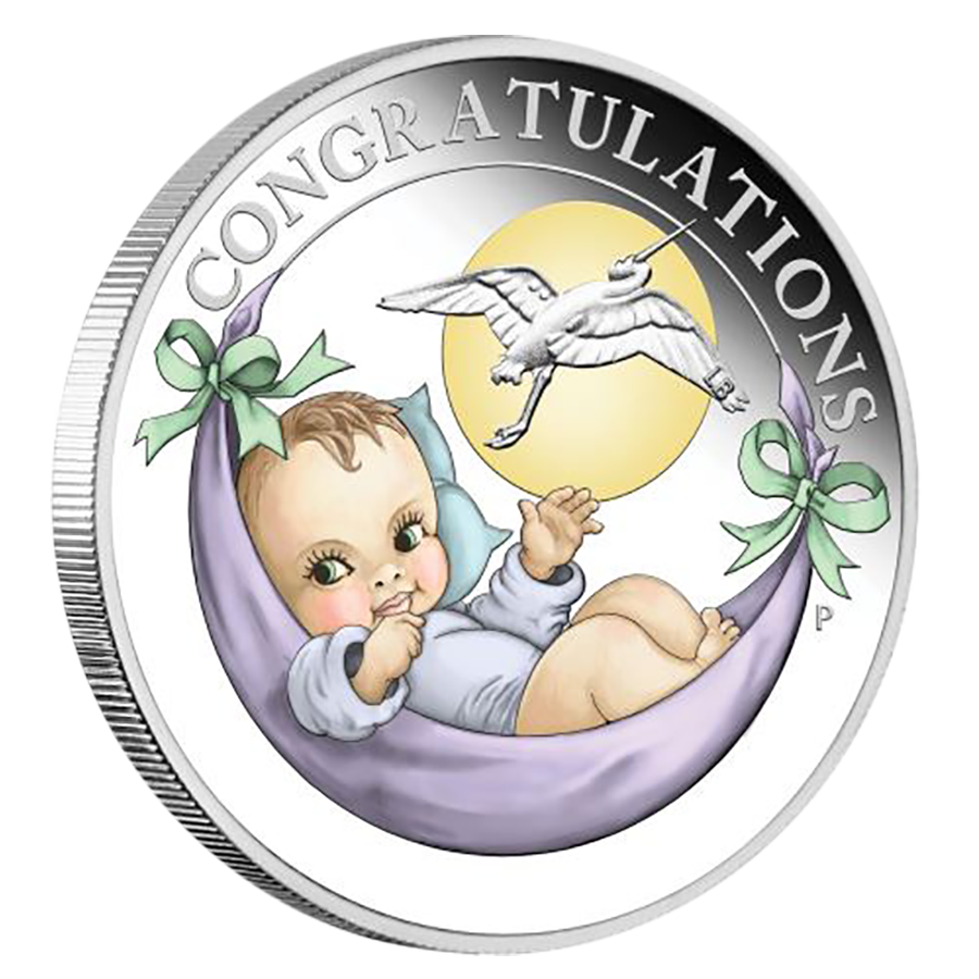 2018 Australian Newborn 1/2oz Proof Silver Coin