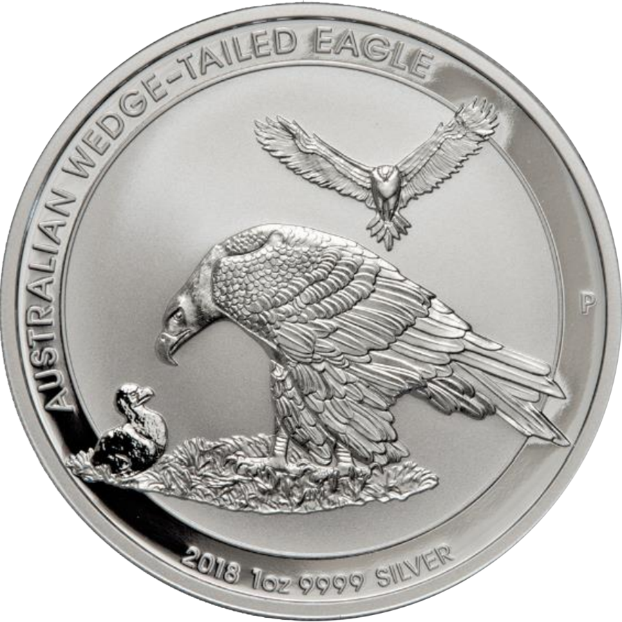 2018 Australian Wedge Tail Eagle 1oz Silver Coin (Image 1)