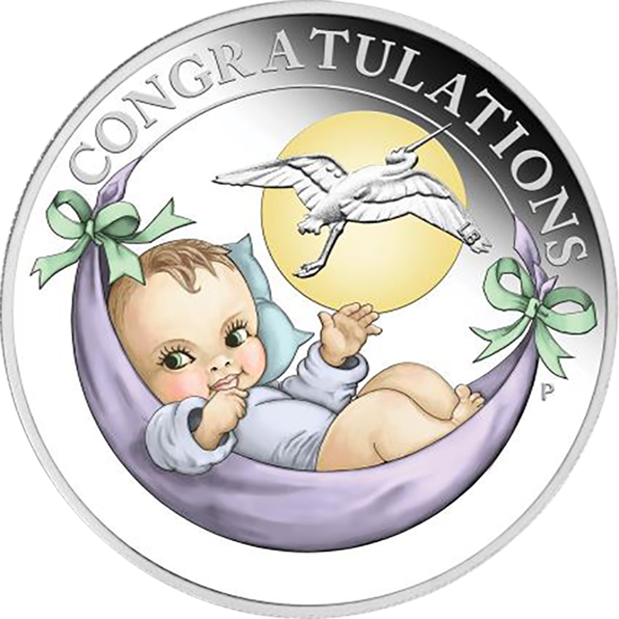 2019 Australian Newborn 1/2oz Proof Silver Coin