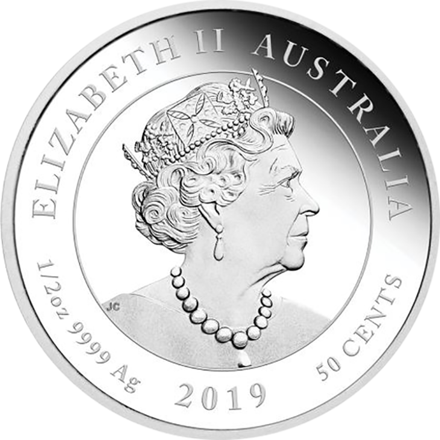 2019 Australian Newborn 1/2oz Proof Silver Coin (Image 2)