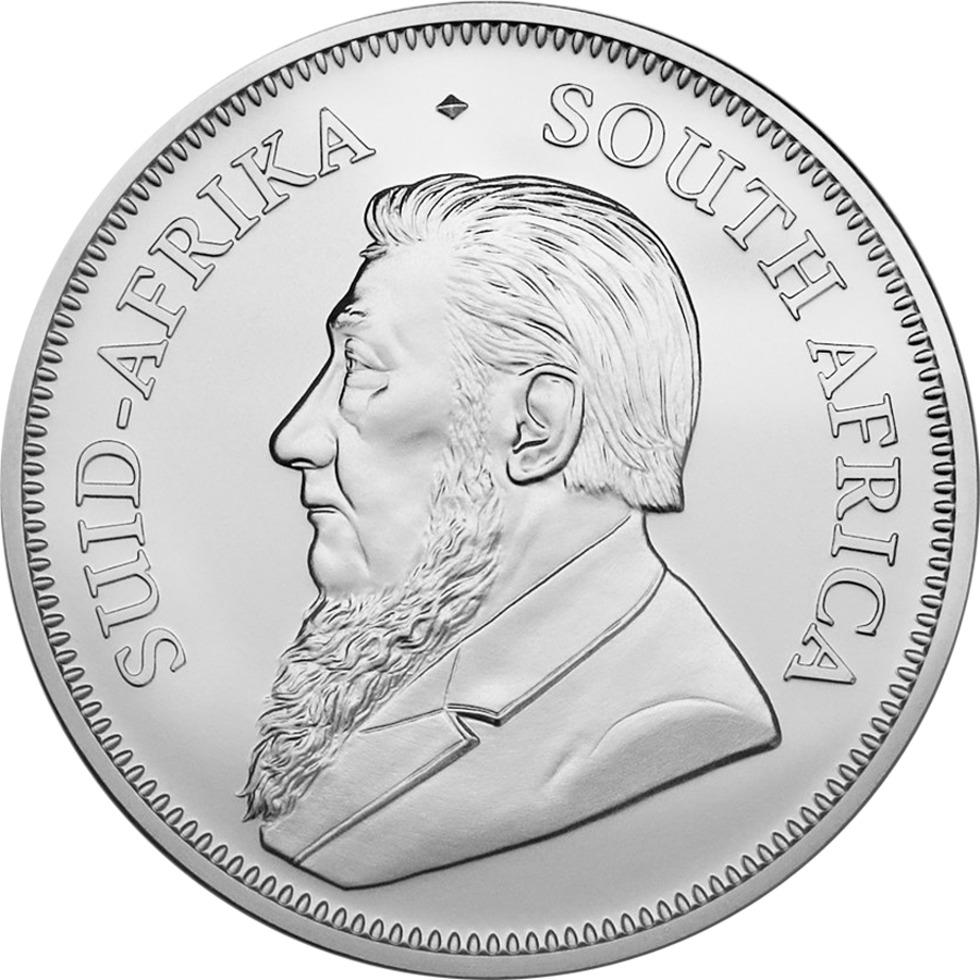 2019 South African Krugerrand 1oz Silver Coin (Image 2)